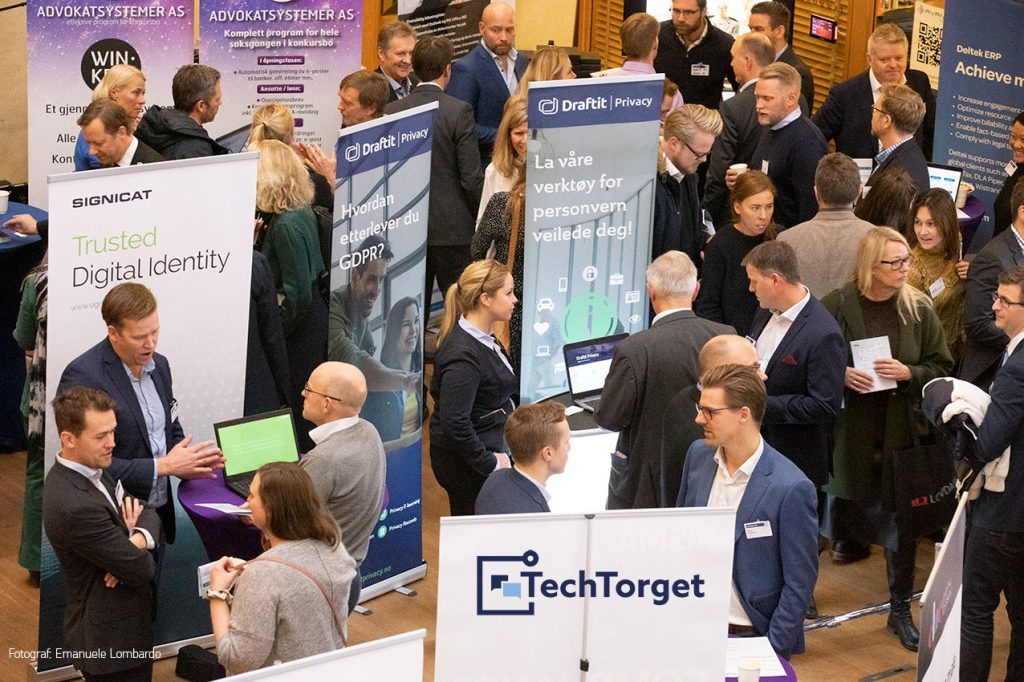 Photo of TechTorget event in Oslo
